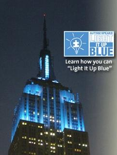 Light It Up Blue Autism Speaks